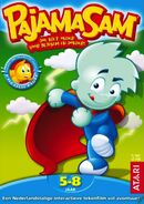 Pajama Sam 2 Box Art Dutch
