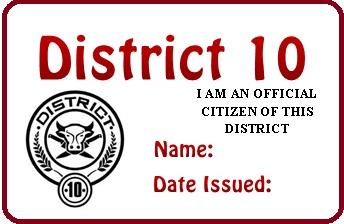 District 10 permit