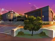 University Campus (Evening)