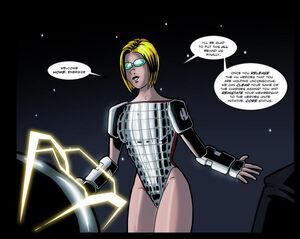 HU Commander (Natasha Lawler) in Celestial Battle Suit - by Nepath