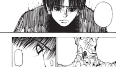 Chrollo's first appearance in Black Whale