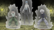 82 - Gon, Killua, and Kite versus Yunju's team