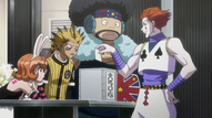 Hisoka taking part in the election