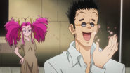 Leorio after palpating Leroute