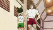 Razor Telling Gon About Ging
