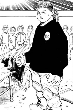 Todo in the Manga