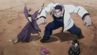 Nobunaga clashing with Franklin 2011