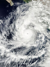 Hurricane Jova October 10 2011