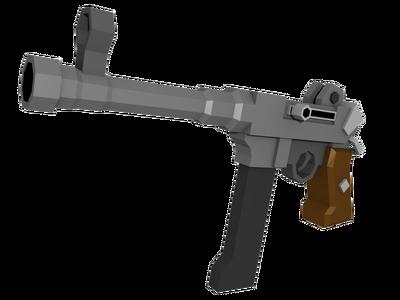 Tf2 submachine gun by pithekhoz-d6gjhow