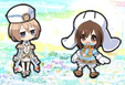 Gust and Blanc chibi