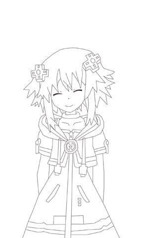 File:Neptune new cloth line art by suning-d5b3xkw.jpg