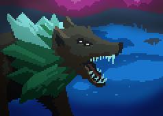 Crystal Wolf Portrait