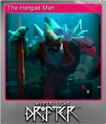 Hyper Light Drifter Card The Hanged Man Foil