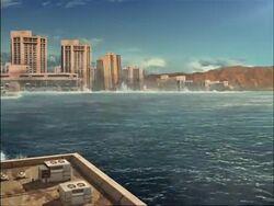 Hawaii Tsunami Flooding