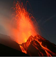 Volcanic eruption 28