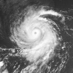 Hurricane Daniel of 2000