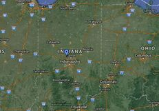 June 2017 Indiana Earthquake Epicenter Location