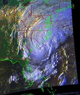 Hurricane Ernesto (2006) - Cropped