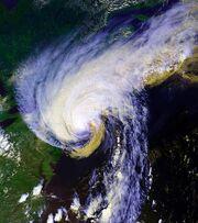 Hurricane Bob 19 aug 1991 1818Z