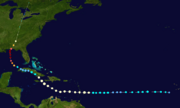 Larry 2015 track (Christmas hurricane).png