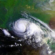 Hurricane Danny 19 july 1997 1237Z