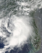 Claudette 2009 approaching Florida.jpg