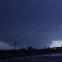 The Oklahoma City EF2 at it's peak size and intensity