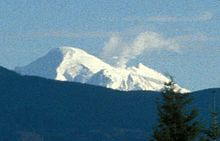 File:Mount Baker steam plume from Bellingham, WA, 1999.jpg
