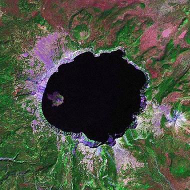 File:Crater Lake from space.png