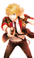 (Kiss me HERO!) Seiya Aido GR transparent