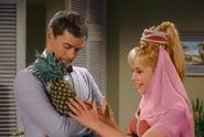 Jeannie gives Tony a Pineapple Plantation