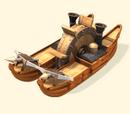 ספינת מרוץ ממונעת