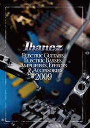 2009 NA elec guitar catalog front-cover