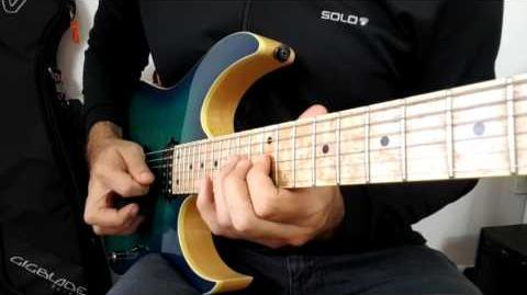 Guitar Practice I Lick I Arpeggios in Groups of 5 7 5 9