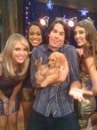 Spencer with Girls and a Puppy