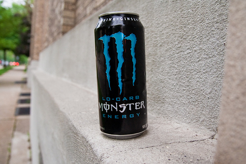 File:Monster Energy Drink Can Ledge East Hills Neighborhood Evening Walk May 25, 20119.jpg