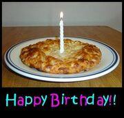 Birthday-pizza