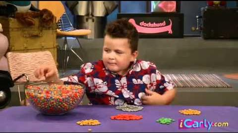ICarly Interview with Guppy Colorful candy