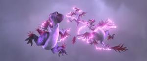 Dino-Birds shocked