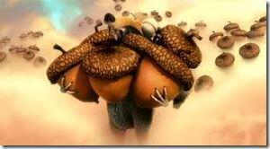 Scrat acorn heaven