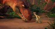 Sid arguing with Momma