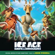 Ice Age Dawn of the Dinosaurs SoundtrackCover