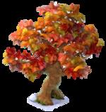 Larger fall tree