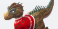 Holiday Allosaurus