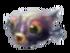 Baby gray spiky fish