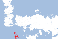 Summer Islands location