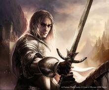 Ser Jaime Lannister by Magali Villeneuve