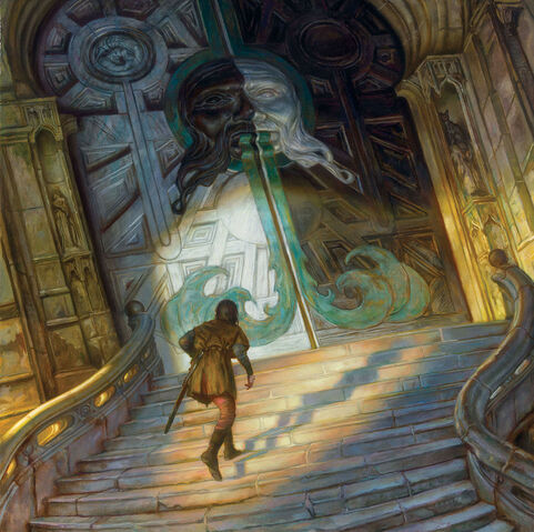 File:Arya coming at the house of black and white.jpg