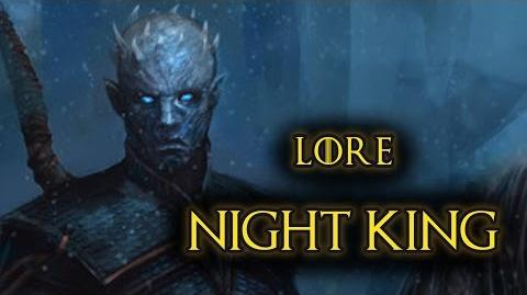 Night's King - Game Of Thrones, A Song of Ice and Fire - Lore and History