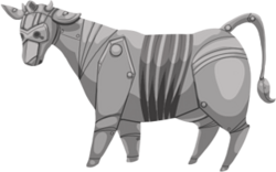 Cow cyber